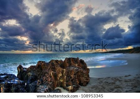 Brighton Beach - Perth Western Australia - stock photo