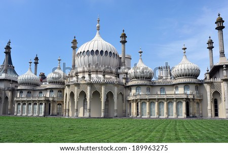 Brighton Pavilion - stock photo