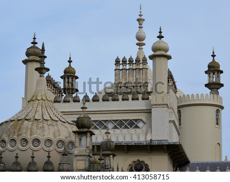 Brighton Pavilion - stock photo