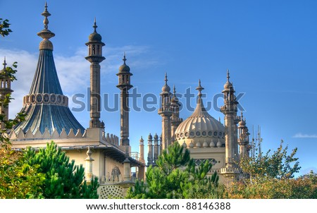 Brighton Pavillion - stock photo