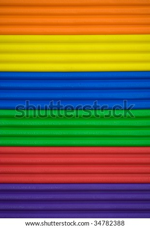 brighty coloured ribbed background