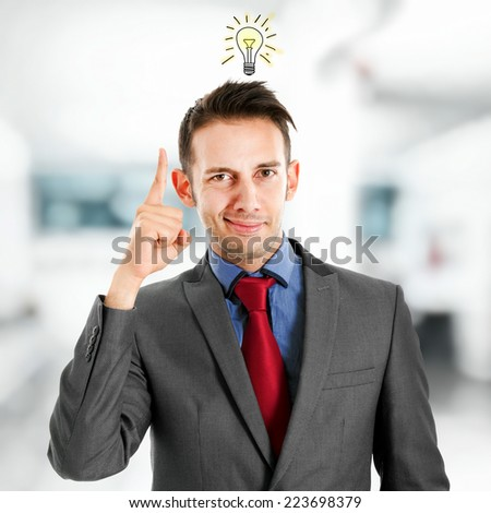 Brilliant idea - stock photo