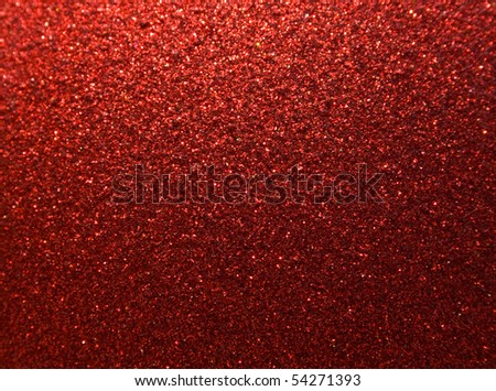 brilliant red background for a festive decoration - stock photo