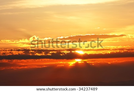brilliant sunrise - this file is gorgeous in large size looks great as desktop background - stock photo