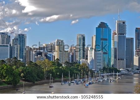 Brisbane, Australia - stock photo