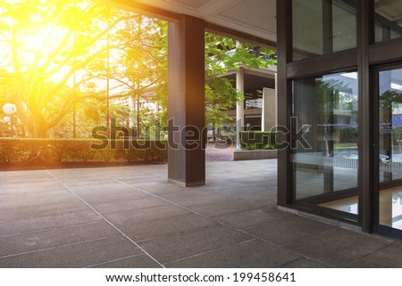 Brisbane, Interior Architecture - stock photo