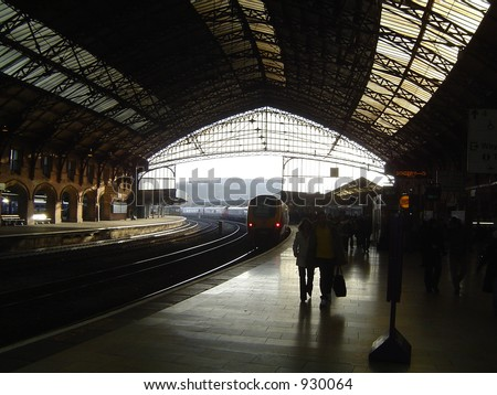 Bristol Temple Meads Station - stock photo