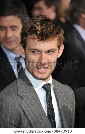 "British actor Alex Pettyfer at the world premiere of his new movie ""I Am Number Four"" at the Mann Village Theatre, Westwood. February 9, 2011  Los Angeles, CA Picture: Paul Smith / Featureflash"