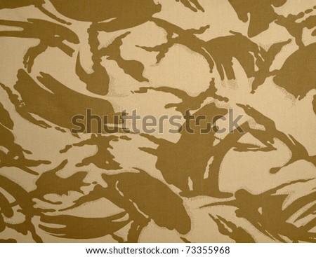British army desert dpm camouflage texture - stock photo