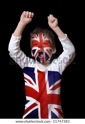 British boy - stock photo