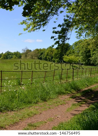 British Countryside - stock photo