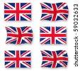 British Flag - stock vector
