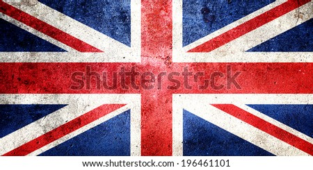 British flag - stock photo