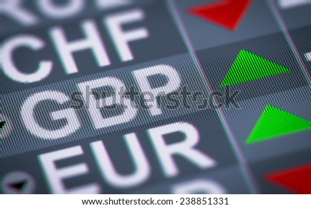 British pound - stock photo