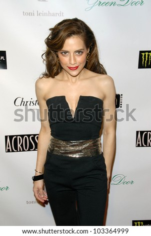 "Brittany Murphy at the ""Across the Hall"" Premiere, Laemmle's Music Hall, Beverly Hills, CA. 12-01-09"
