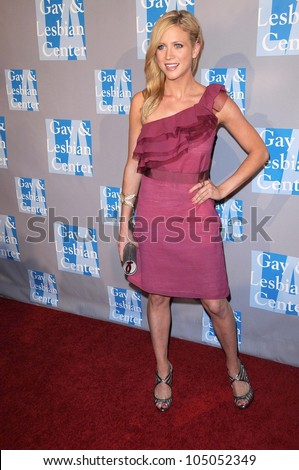 Brittany Snow at 'An Evening With Women - Celebrating Art, Music and Equality'. Beverly Hilton Hotel, Beverly Hills, CA. 04-24-09 - stock photo