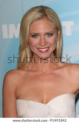 Brittany Snow at the Women In Film's 2011 Crystal + Lucy Awards, Beverly Hilton hotel, Beverly Hills, CA. 06-16-11 - stock photo