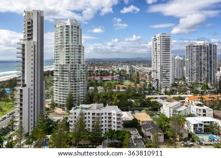 Broadbeach on Surfers Paradise Gold Coast