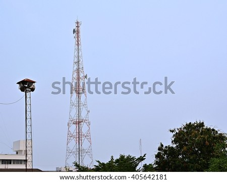 Broadcast tower and  Antenna