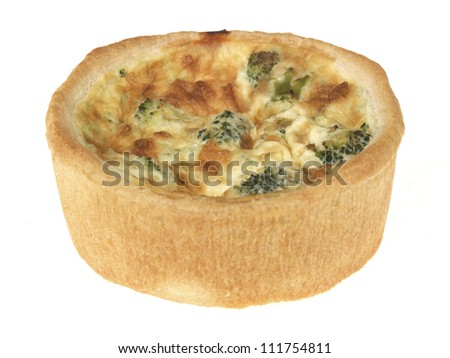 Broccoi Cheese and Tomato Quiche