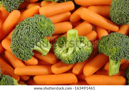 broccoli and carrot for cooking