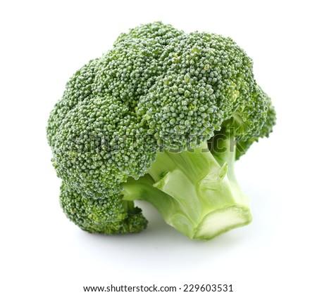 Broccoli in closeup - stock photo