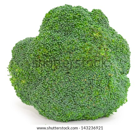 broccoli vegetable isolated