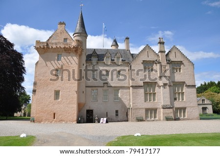 Brodie Castle in summer