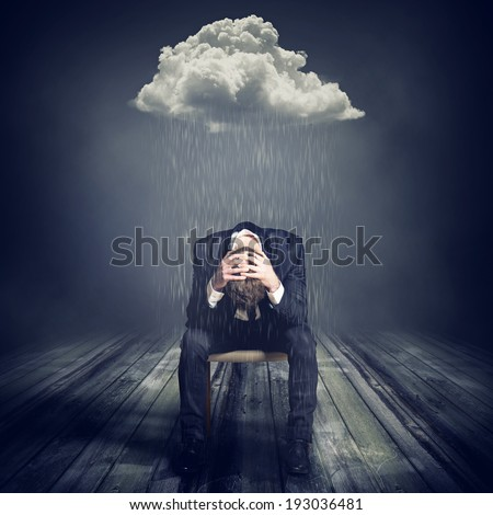 Broke - stock photo