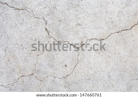 broked cement texture  - stock photo