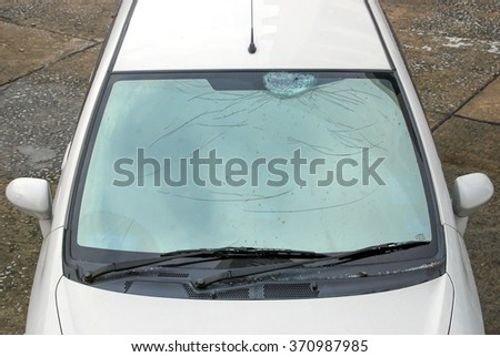 how to fix cracked golf cart windshield