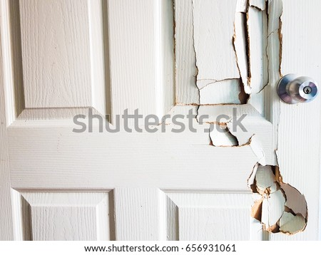 Charming Broken Door When The Man Forgot The Key