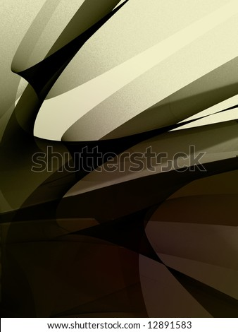broken shards abstract background - stock photo