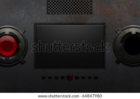 broken videophone that never existed - stock photo