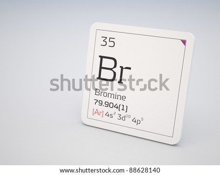 Bromine - element of the periodic table