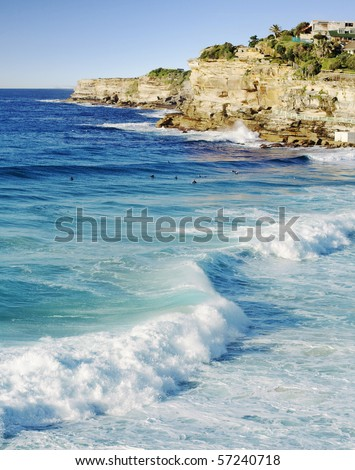 Bronte beach in Sydney Australia, near Bondi - stock photo