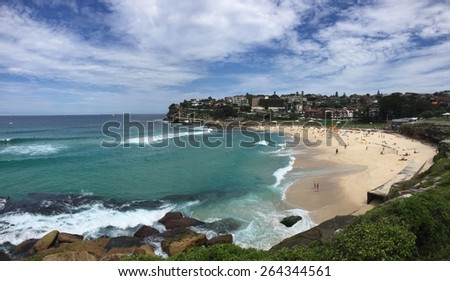 Bronte Beach Sydney Australia  - stock photo