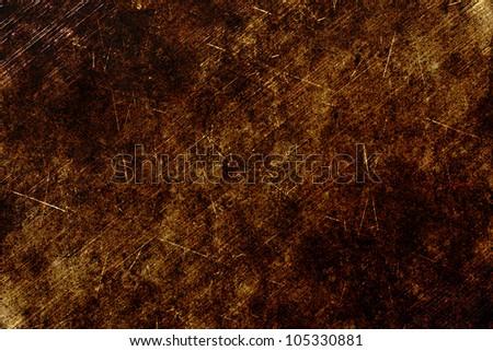 bronze grunge background textured - stock photo