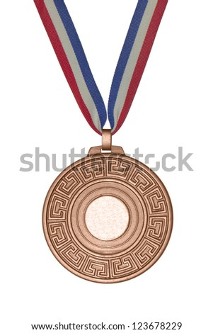 Bronze medal - stock photo