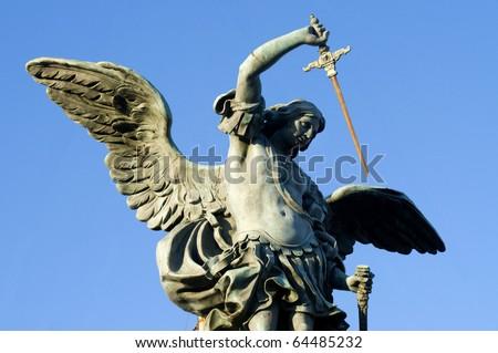 Archangel Michael Bronze Statue Bronze Statue of Saint Michael
