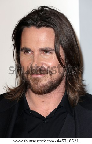 Brooklyn, New York; December 7th, 2014; Christian Bale arrives to the premiere of Exodus: Gods and Kings at the Brooklyn Museum. - stock photo