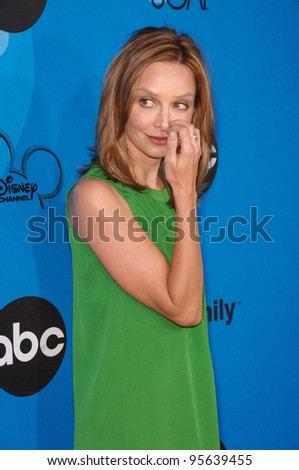 Brothers and Sisters star CALISTA FLOCKHART at the Disney ABC TV All Star Party at Kidspace in Pasadena. July 19, 2006  Pasadena, CA  2006 Paul Smith / Featureflash - stock photo