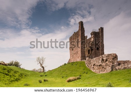 Brough Castle Keep / Brough Castle originates from the 11th century built to protect a key route through the Pennines