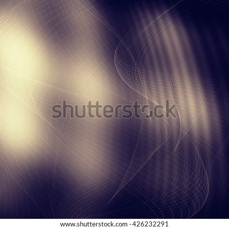 Brown abstract fantasy web modern background - stock photo