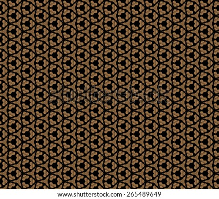 brown abstract retro seamless pattern
