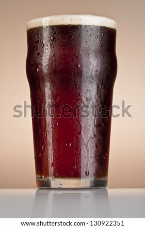 Brown Ale - stock photo
