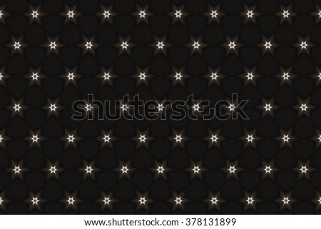 brown and light elements on a black background. 4