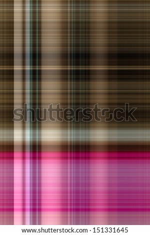 Brown and Pink Plaid Background - stock photo
