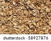 brown and tan wood chip background - stock photo