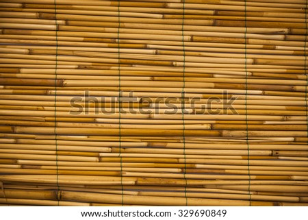 brown bamboo texture for  background and design - stock photo